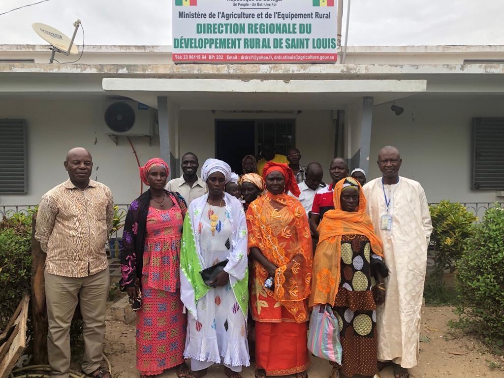 Visite d'échange des bénéficiaires du projet AVIP dans la vallée du fleuve Sénégal